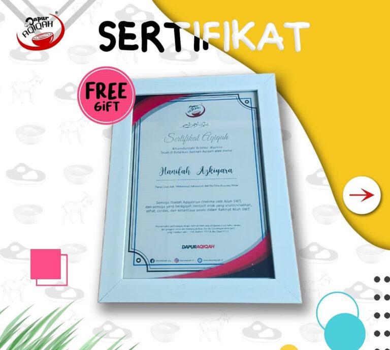 bonus-sertifikat-aqiqah-bandung-murah